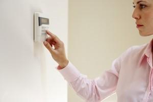 Teclado de armado y desarmado de la alarma para su hogar o negocio