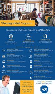 Flyer ADT Ciberseguridad Negocios